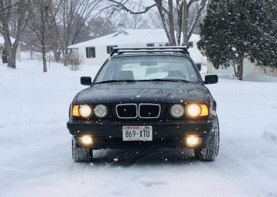 E34 sedan