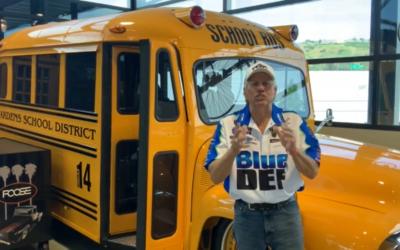 John Force's School Bus