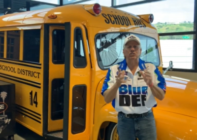 John Force's School Bus